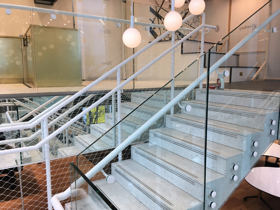 (12a) Soho feature staircase - Advertising agency
