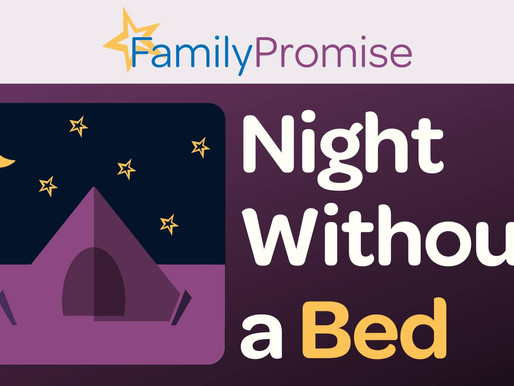 Consider Donating to Night Without a Bed Today