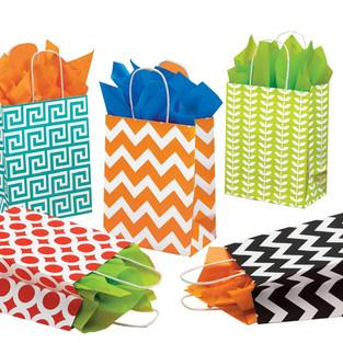 Geometric Gift Bags