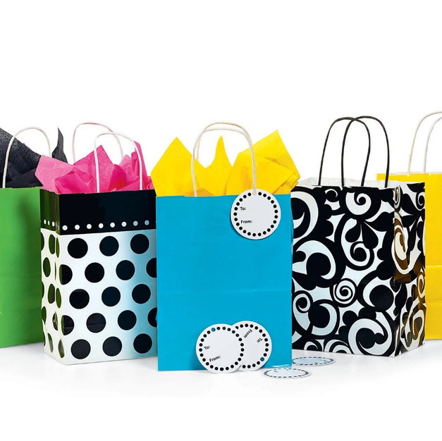 Bright and Bold Gift Bags