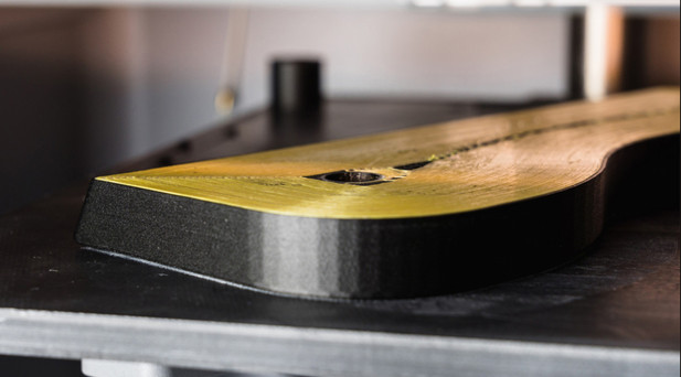 Kevlar embedded in Onyx base material