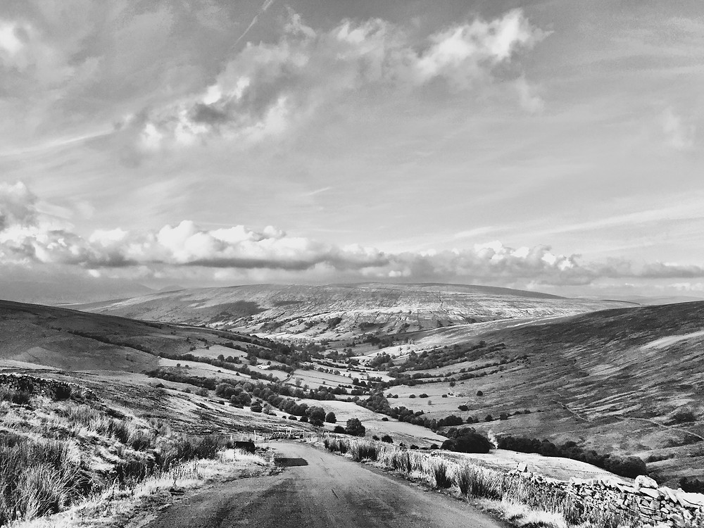 Looking down on Dentdale from Deep Dale