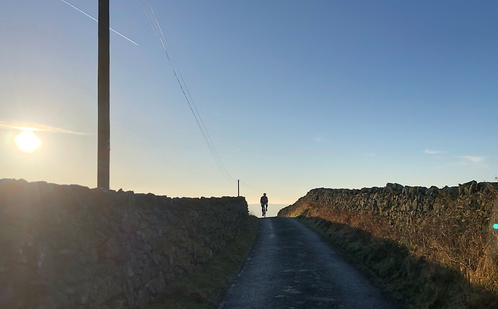 Cresting Corney Fell