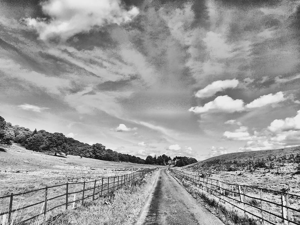 Rigmaden Park's quiet lanes