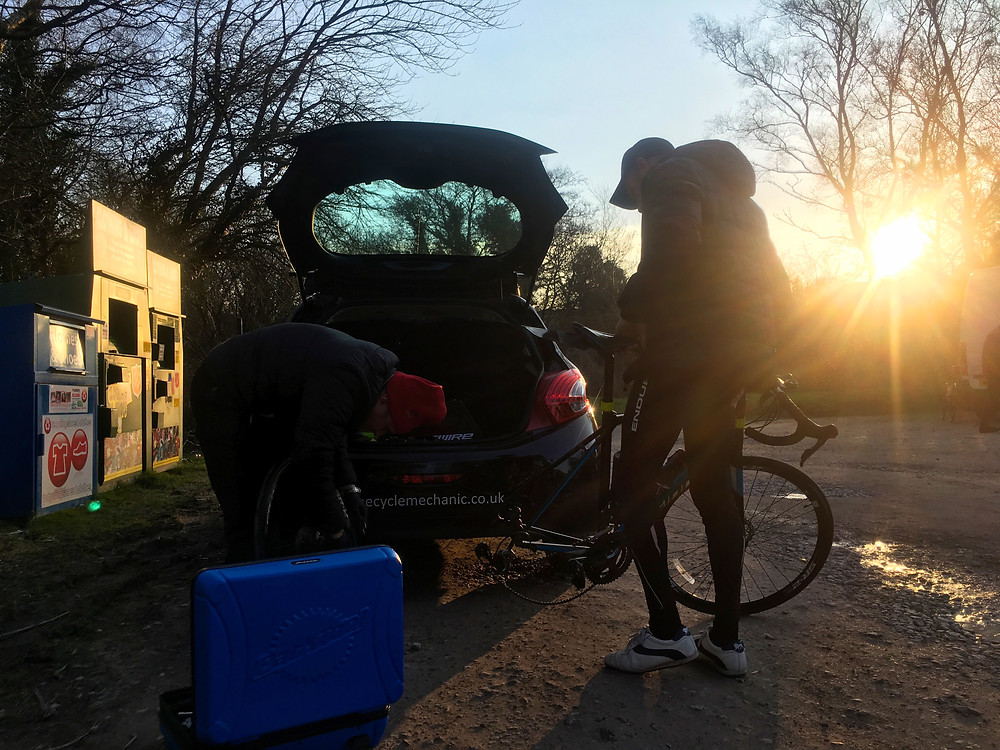 The Cycle Mechanic - an awesome help on the day