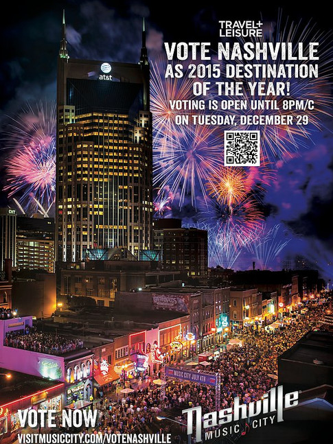 NASHVILLE CONVENTION & VISITOR'S CORP. POSTER