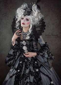 Model, styling, MUA  dress Victoria Lovelace