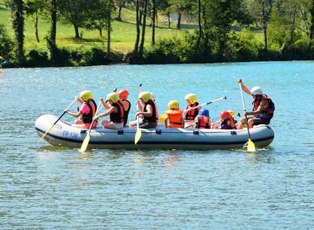 Rafting, kayaking, canoeing, boating on river Kolpa