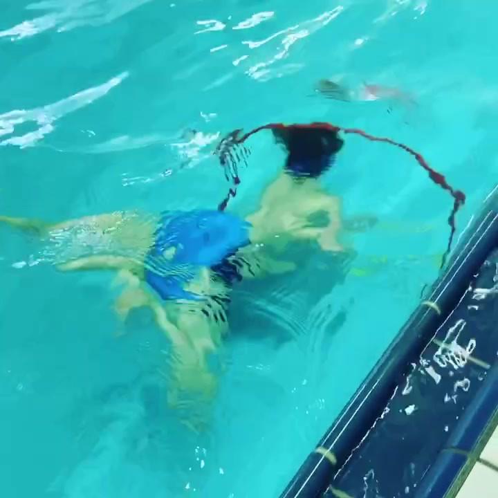 plavanje, pod vodo