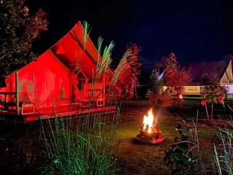 Glamping Kolpa Resort: glampiranje
