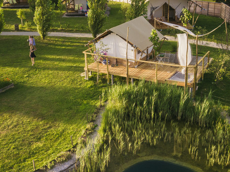 Glamping in nature gives Kolpa Resort a sustainable edge
