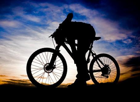 Cycling by Kolpa River
