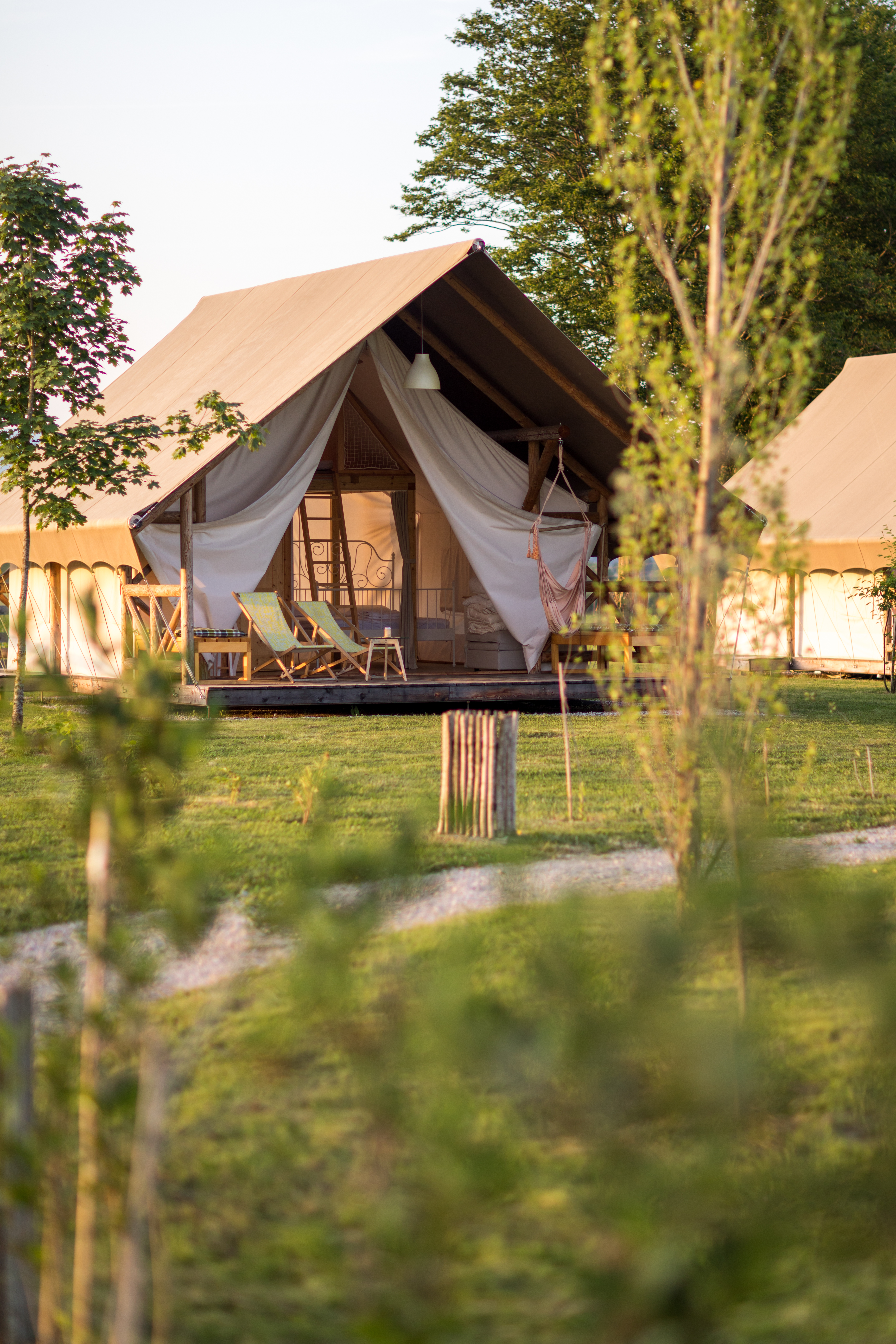 Glamping tent AMBER