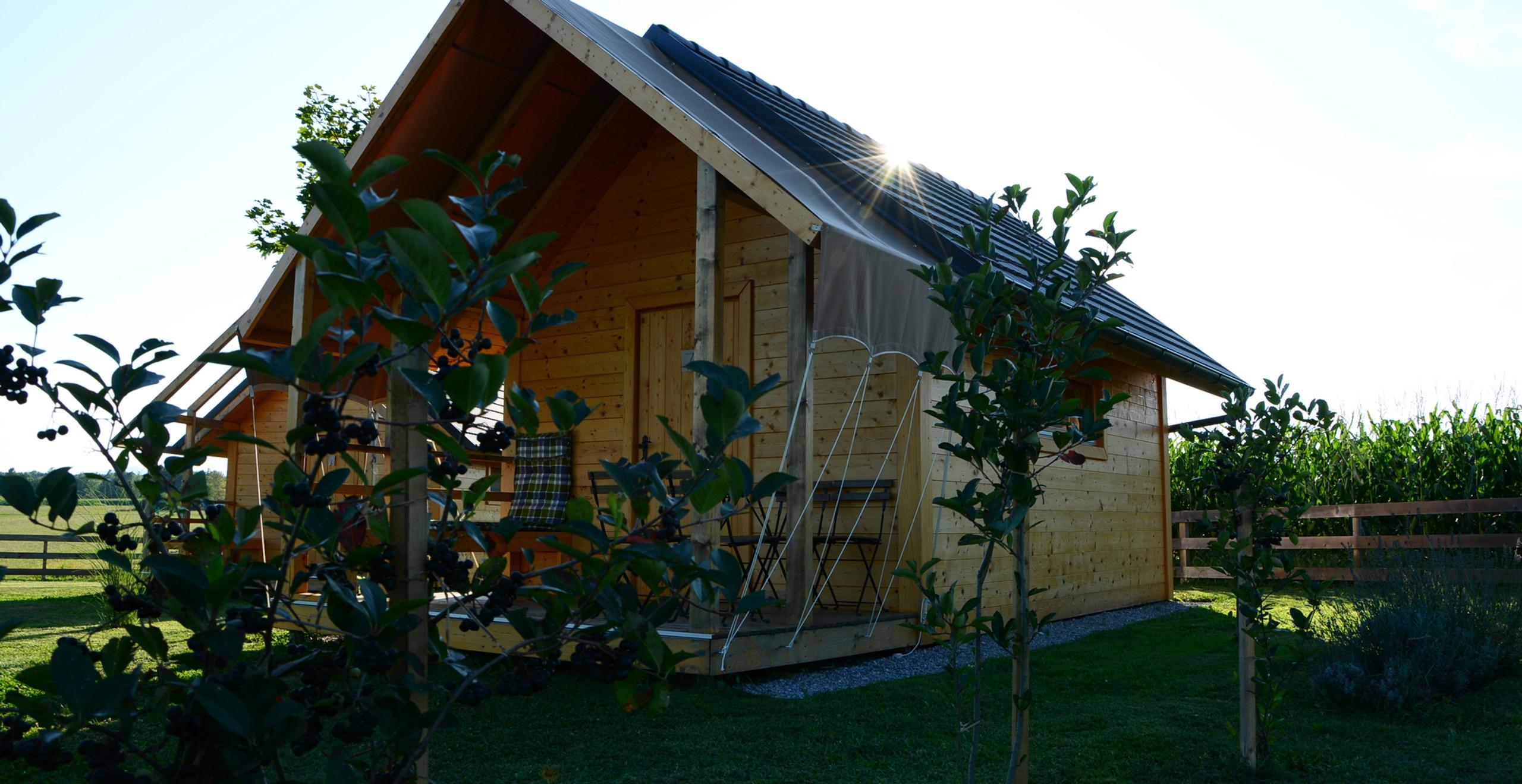 Glamping house Slovenia