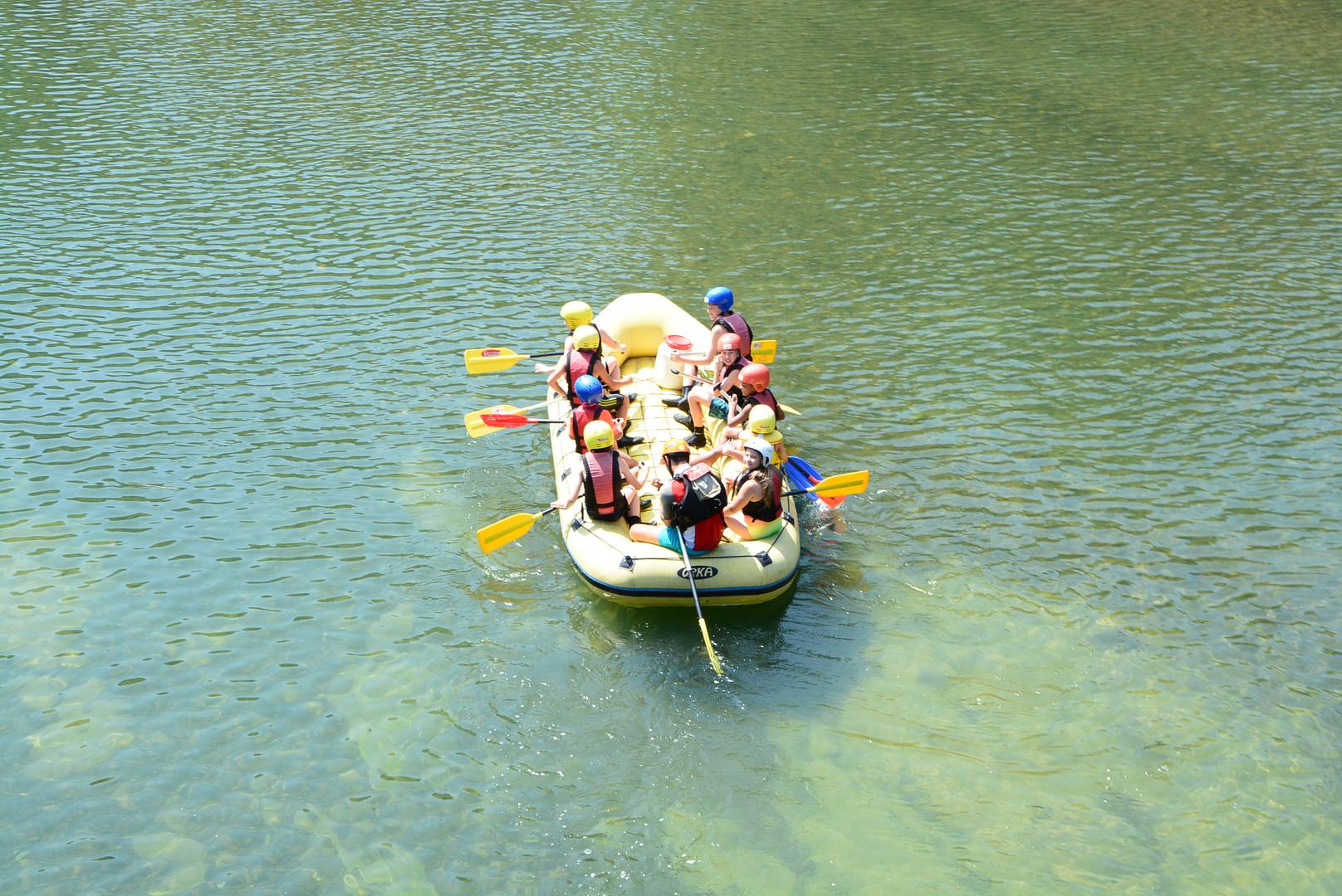 Kolpa: rafting