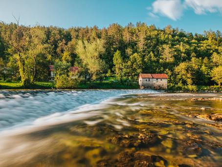Reka Kolpa, najdaljša slovenska riviera