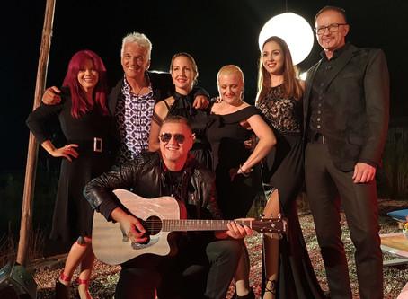 Snemanje glasbene oddaje za TV 3