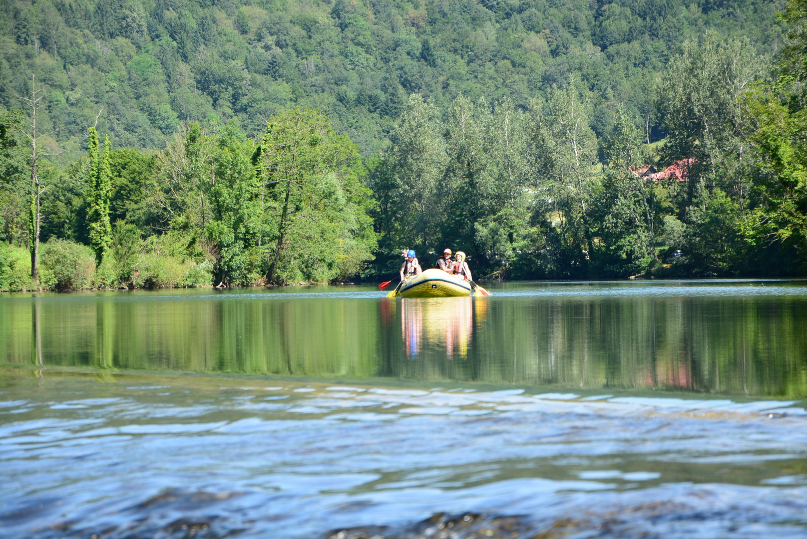Rafting po Kolpi
