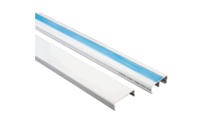 DXN10131 Canaleta Plástica 32x12 mm con tapa adhesivo y división
