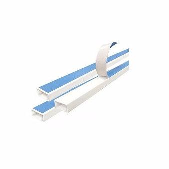 DXN10171 Canaleta Plástica 40x25 con tapa y adhesivo