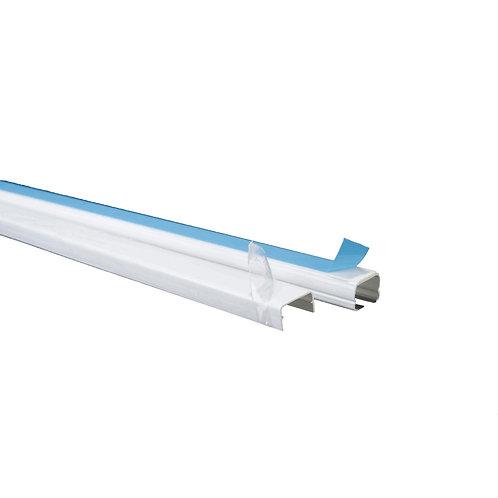 DXN10041 Canaleta Plastica 20x12mm con tapa y Adhesivo