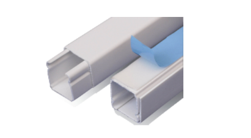 DXN10071 Canaleta plástica 20x20 con adhesivo
