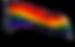 gay lesbian rainbow pride flag