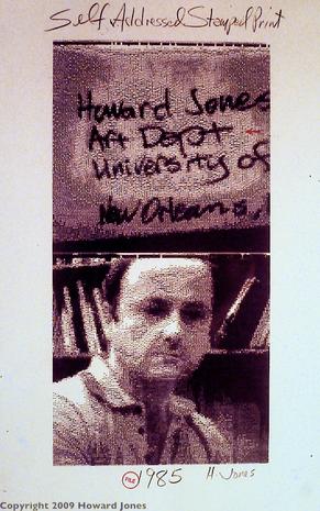 Self-Addressed Stamped Print