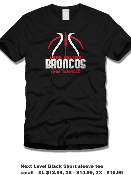 Short sleeve LB Basketball (BLK)