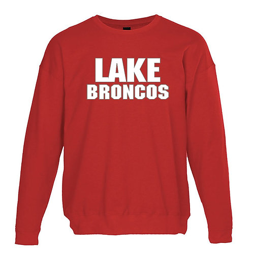 Lake Belton Bronco Long Sleeve Crew Neck (Bulk Delivery to Elizabeth Ramsey)