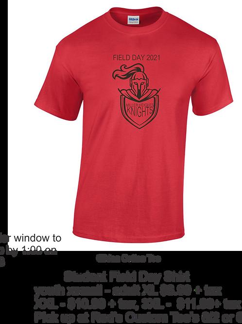Miller Heights Student Field Day Shirt