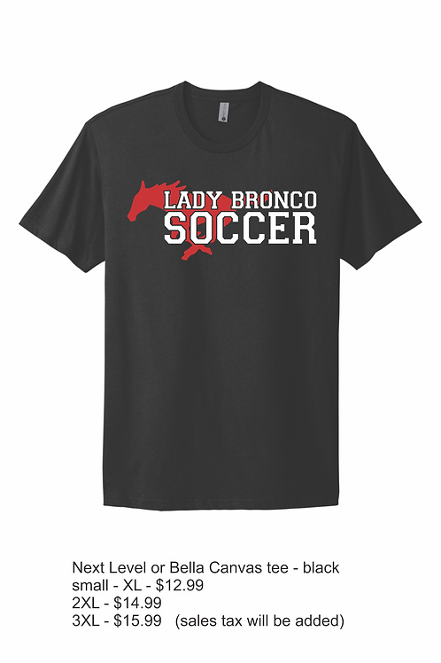 Black Short Sleeve Lake Belton HS Soccer