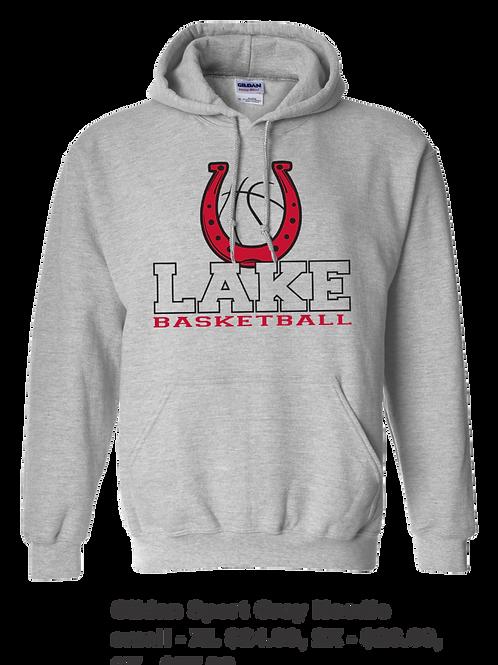 Lake Belton Basketball Hoodie