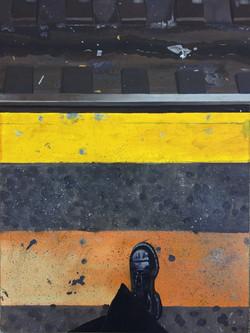 Platform Edge (Acrylic Painting)