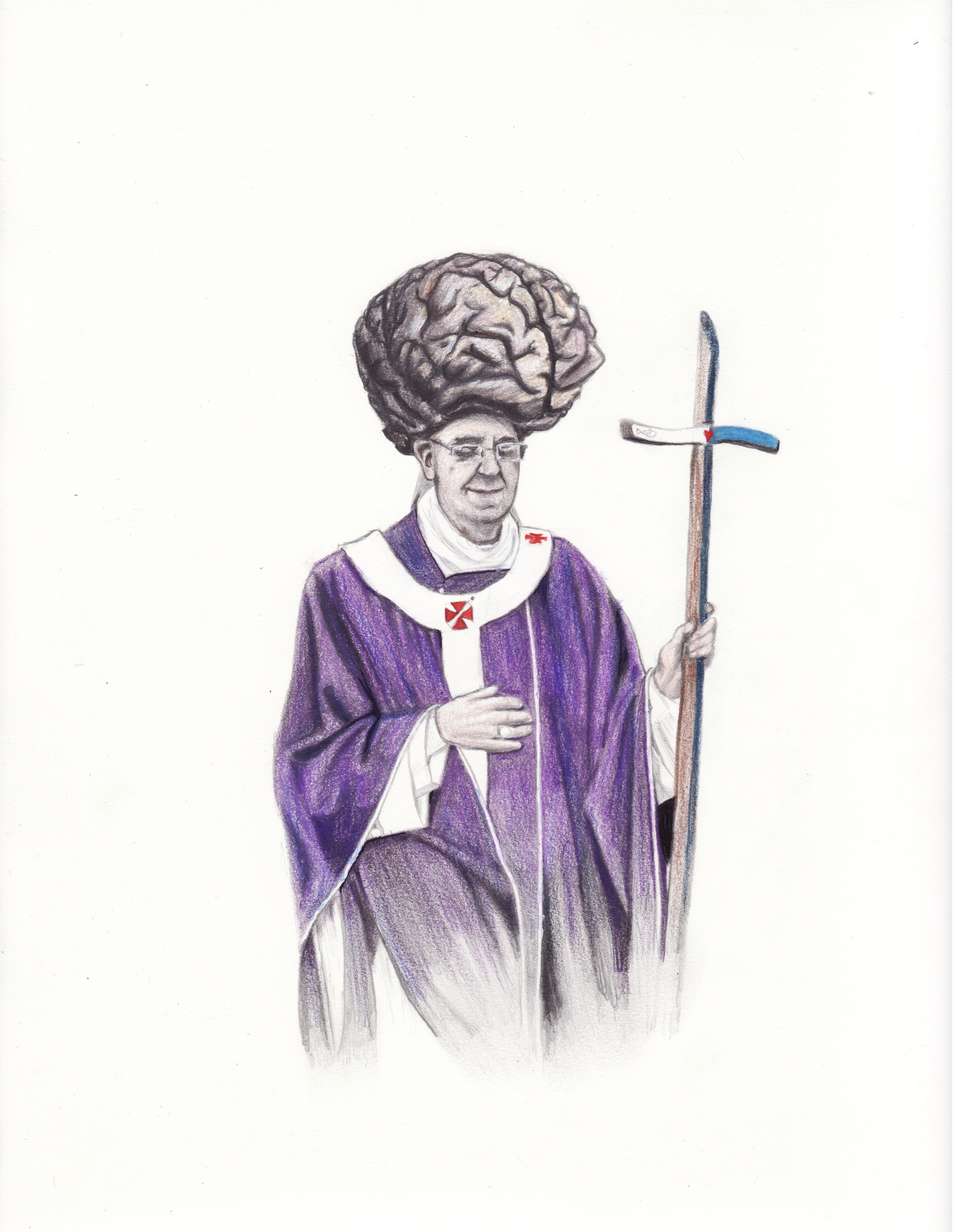 The Brain Pope