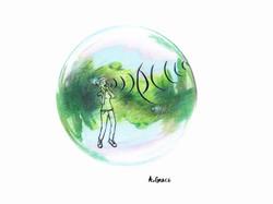 In A Bubble