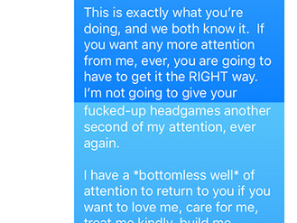 Open Letter Concerning My Abusive Ex-Boyfriend