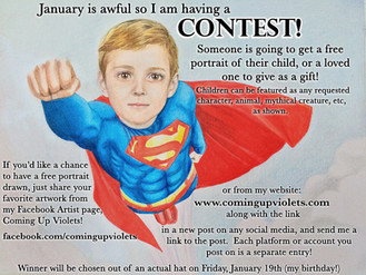 January is Awful, So I'm Having a Contest