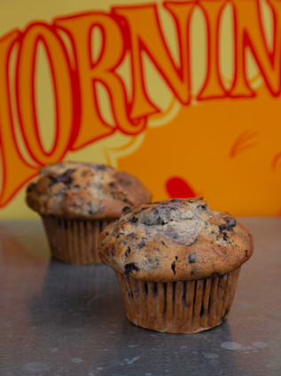 PECAN BLUEBERRY MUFFIN