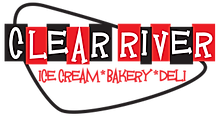 Clear River Ice Cream Bakery Deli Logo
