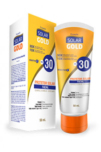 Protetor Solar Gold FPS 30 Facial