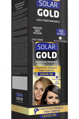 Solar gold | Leave-In - Protetor térmico capilar