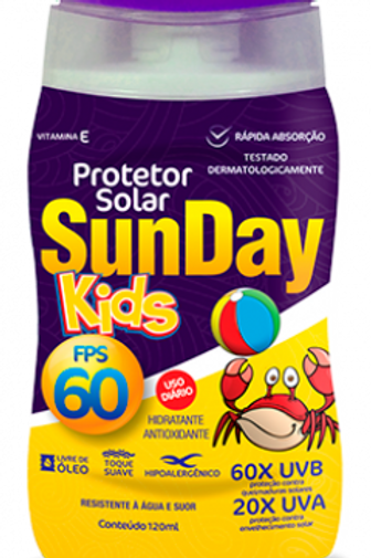 Protetor Solar Sunday FPS60 Kids