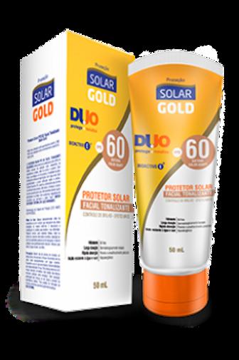 Protetor Solar Gold FPS 60 Facial Tonalizante