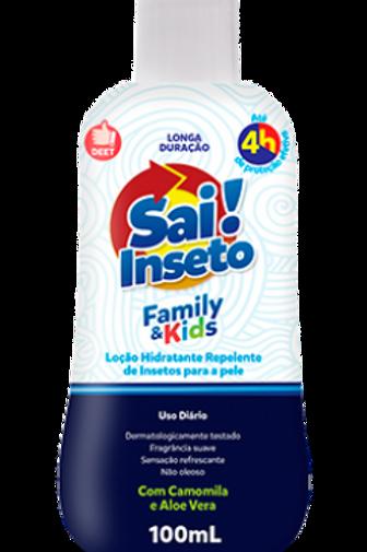Repelente Sai Inseto Loção Family & Kids 4h