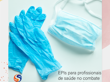 EPIs para profissionais de saúde no combate ao corona vírus.