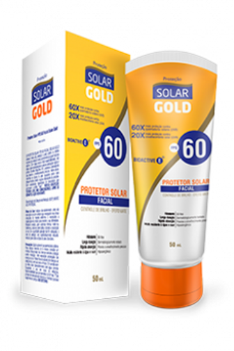 Protetor Solar Gold FPS 60 Facial