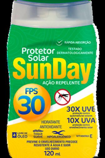 Protetor Solar FPS 30 Repelente Sunday