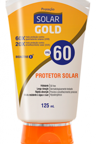 Protetor Solar Gold FPS 60 125ml