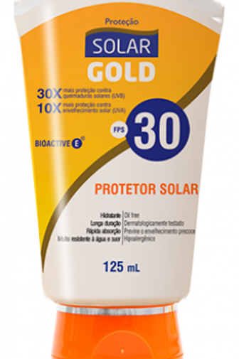 Protetor Solar Gold FPS 30 200ml
